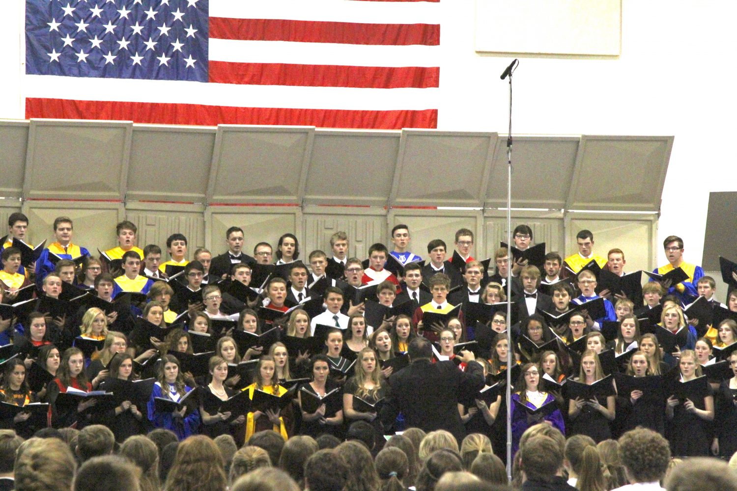 Choir and Band Students Perform at All-State