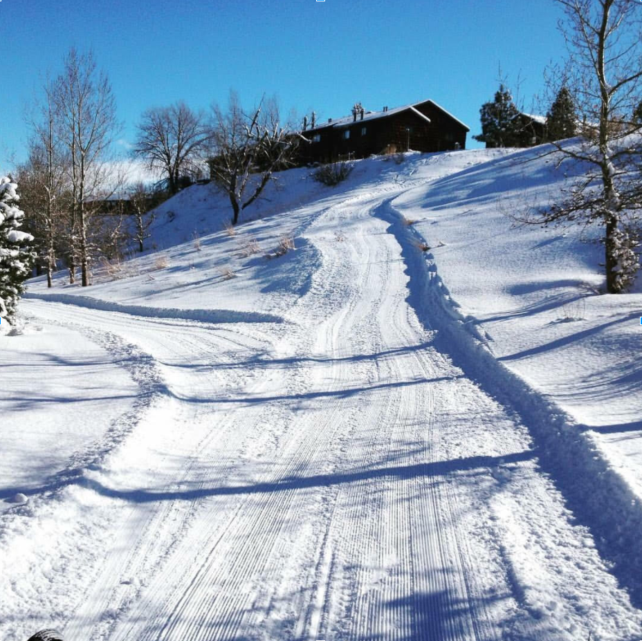 Canal Park groomed trails, located below the Paul Stock Aquatic & Recreation Center. Photo by: Amy Quick