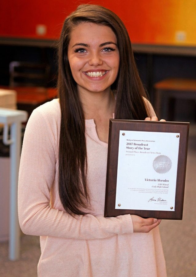 Morales Wins 2nd in National Broadcast News Competition