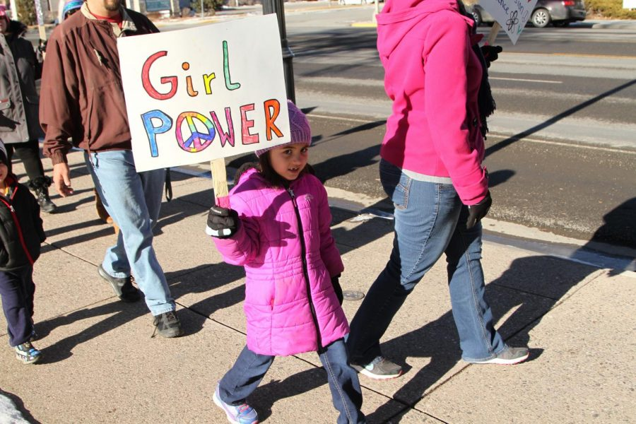 Women's March on Cody: Photo Story