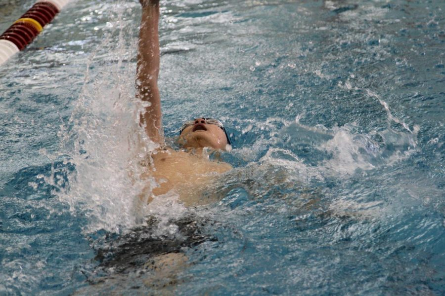 Broncs win Sportsmanship Award in Swimming