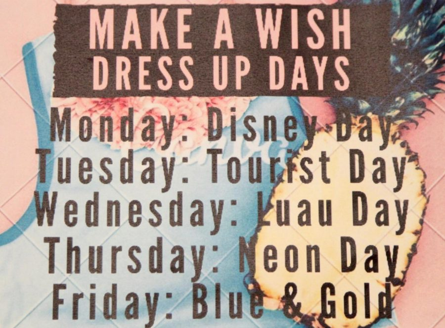 Make A Wish Week Schedule and Activities