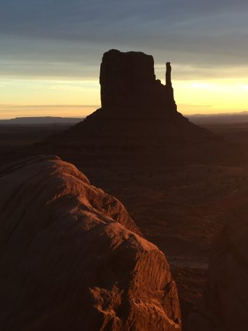 Monument Valley Sunrise by Kimberly Messadieh