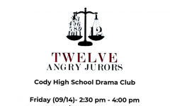 Auditions for CHS Drama: 12 Angry Jurors