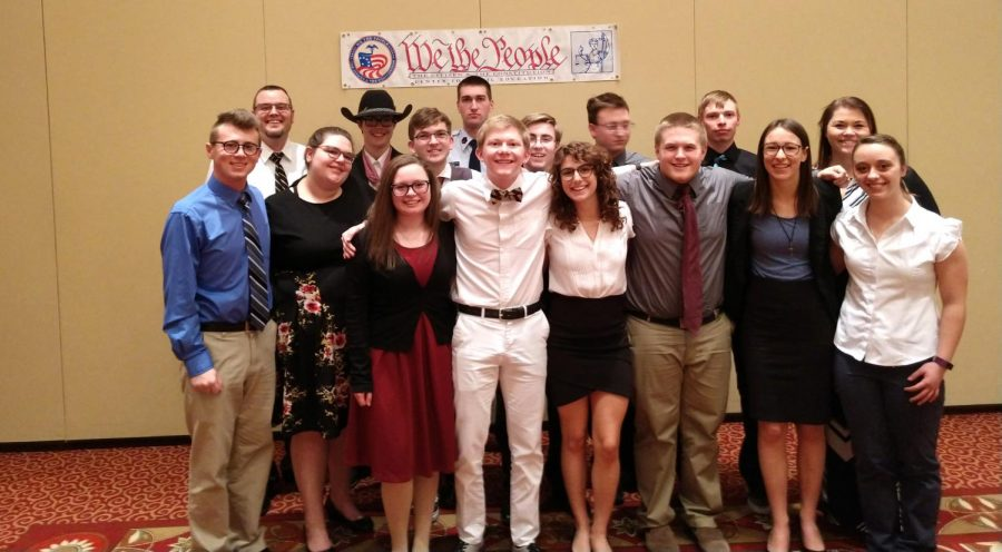 CHS Capstone Team Competes First Time in Ten Years